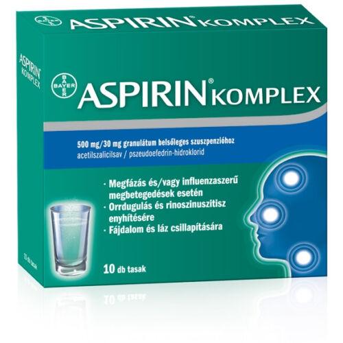 ASPIRIN KOMPLEX 500MG/30MG  10X