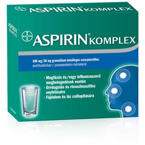 ASPIRIN KOMPLEX 500MG/30MG  20X