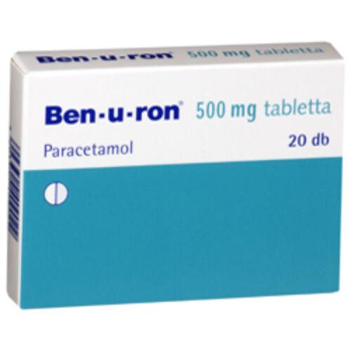 BEN-U-RON 500 MG TABLETTA 20X