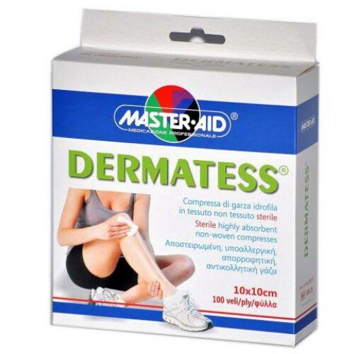 MASTER-AID DERMATESS STANDARD 10X10CM 100X