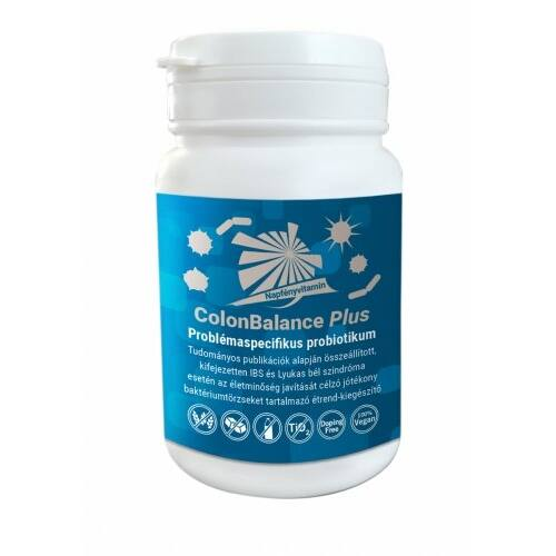 NAPFÉNYVITAMIN COLON BALANCE PLUS KAPSZULA 60X