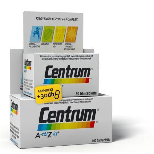 CENTRUM A-Z FILMTABLETTA 100X+30X