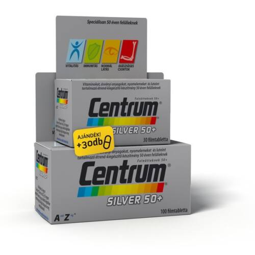 CENTRUM SILVER A-Z-IG FILMTABLETTA 100X+30X