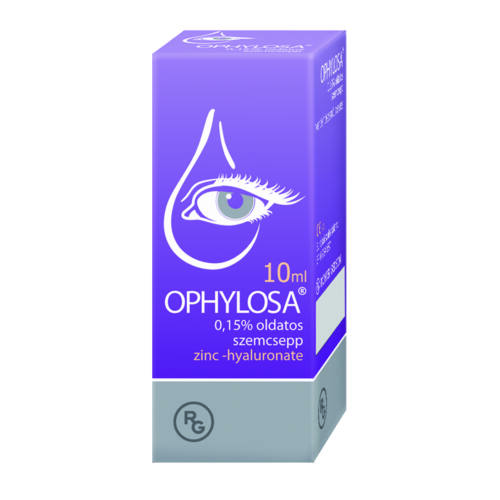OPHYLOSA 0,15% OLDATOS SZEMCSEPP  10ML
