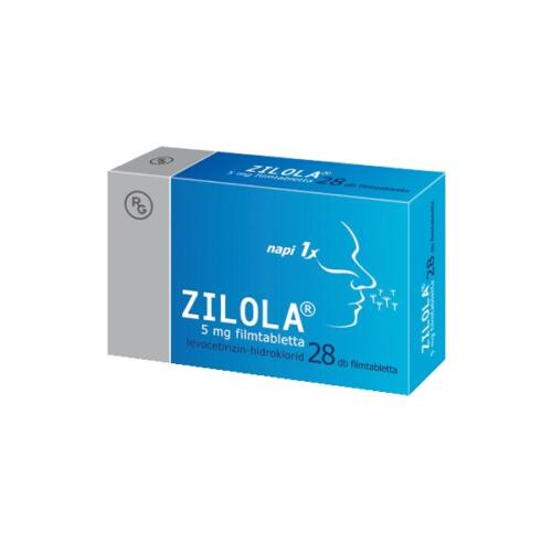 ZILOLA 5MG FILMTABLETTA 28X