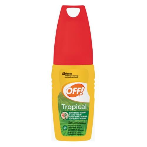 OFF TROPICAL SZÚNYOGRIASZTÓ PUMPÁS SPRAY 100ML