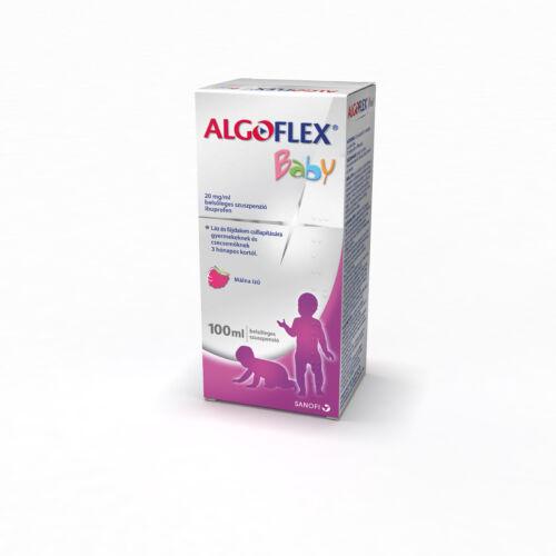 ALGOFLEX BABY 20MG/ML BELSŐLEGES SZUSZPENZIÓ 100ML