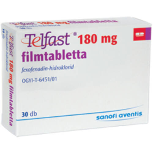TELFAST 180 MG FILMTABLETTA  30X