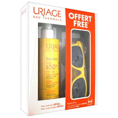 URIAGE BARIÉSUN SPF50+ KID SPRAY 200ML NAPSZEMÜVEGGEL