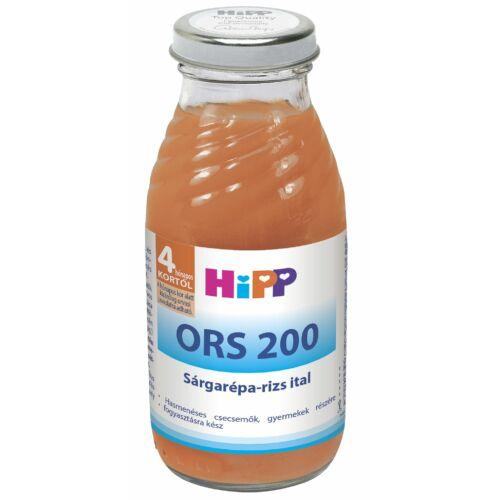 HIPP ORS 200 SÁRGARÉPA RIZS ITAL 200ML