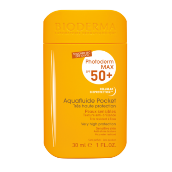 BIODERMA PHOTODERM MAX  AQUAFLUIDE POCKET SPF50+ 30ML