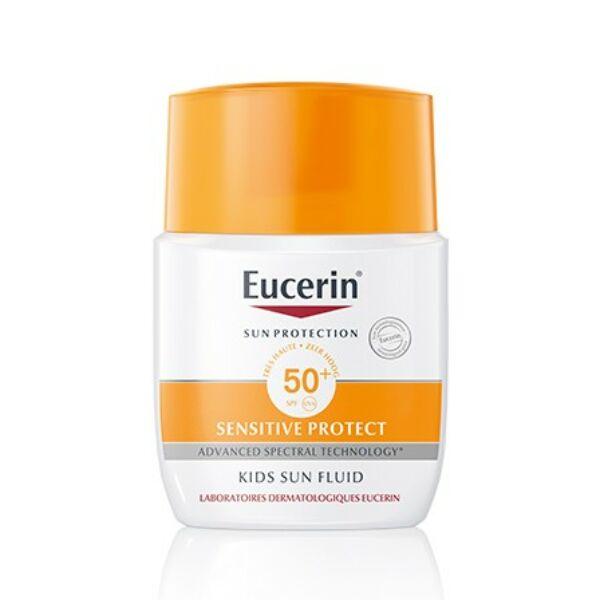 EUCERIN SUN SENSITIVE PROTECT GYERMEK NAPTEJ FF50+   50ML