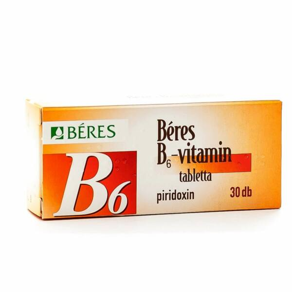 BÉRES B6-VITAMIN 20MG TABLETTA  30X