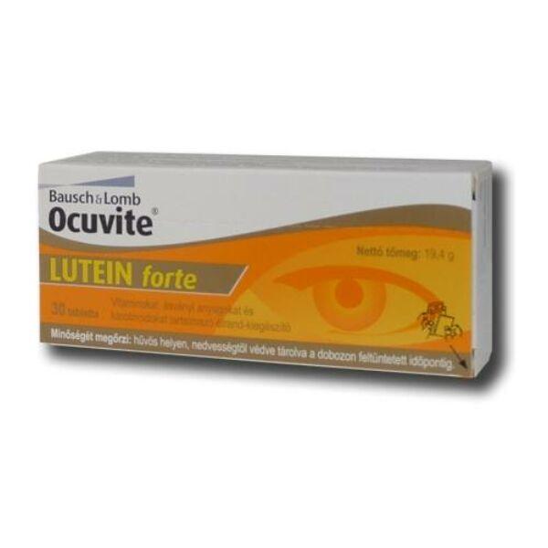 OCUVITE LUTEIN FORTE TABLETTA 30X