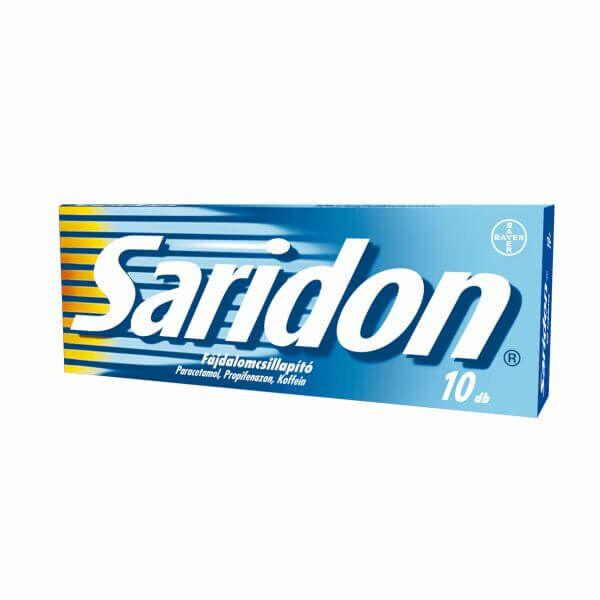 SARIDON TABLETTA 10X