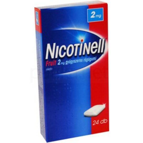 NICOTINELL FRUIT 2 MG RÁGÓGUMI 24X