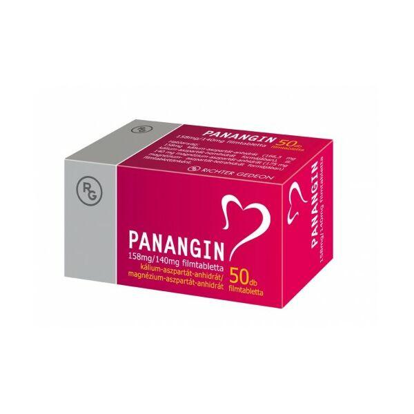 PANANGIN 158MG/140MG FILMTABLETTA 50X
