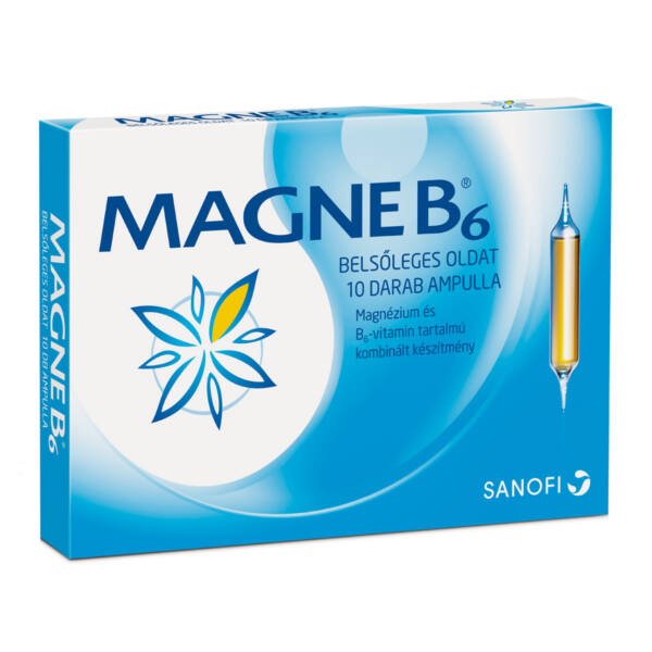 MAGNE B6 BELSŐLEGES OLDAT 10X10ML