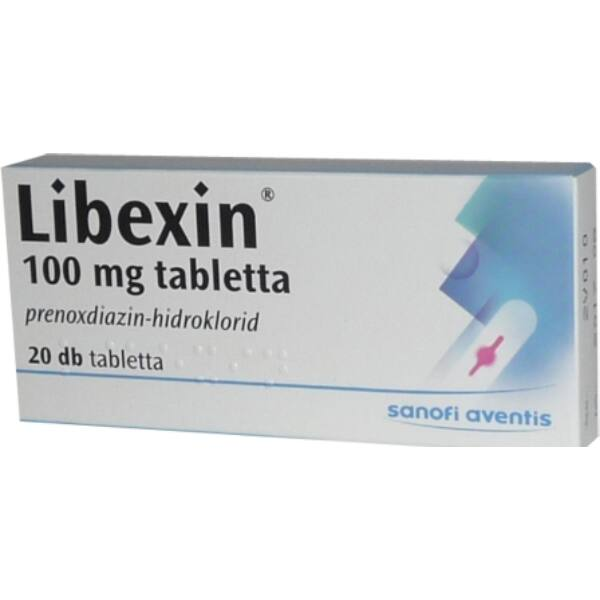 LIBEXIN 100MG TABLETTA 20X