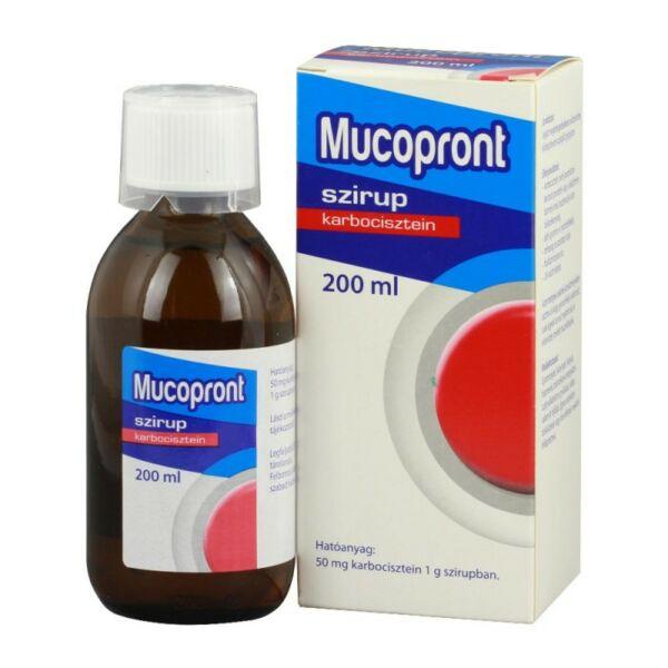 MUCOPRONT 50MG/G SZIRUP 200ML